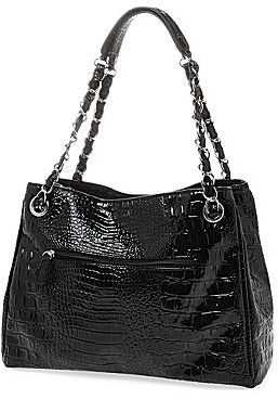 Nicole Miller nicole by Randy Croco-Embossed Tote