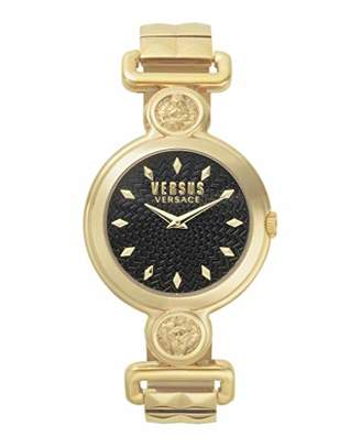 Versus By Versace Women's SUNNYRIDGE Extension Quartz Watch with Gold-Plated-Stainless-Steel Strap
