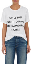 "Prabal Gurung Women's ""Girls Just Want To Have Fundamental Rights"" T-Shirt"