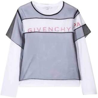 Givenchy Sweater With Double Layer With Print