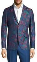 Etro Floral Slim-Fit Cotton Jacket