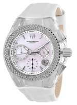 Technomarine Women's Cruise Valentine Stainless Steel Quartz Watch with Leather Strap