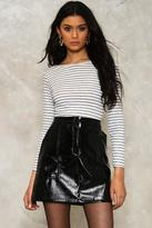 Nasty Gal Jamie Striped Tee