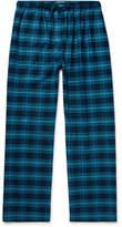 Derek Rose Kelburn Checked Cotton-Flannel Pyjama Trousers