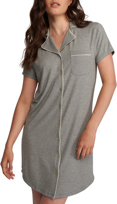 Lusome Marilyn Button-Front Nightshirt