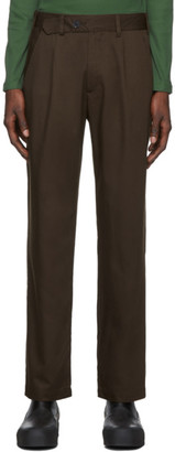 L'Homme Rouge LHomme Rouge Brown C2C Tradition Trousers