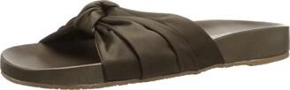 Kaanas Women's Santa Rosa Twist Turban Pool Slide Shoe Sandal