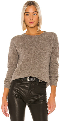 SWTR Keyhole Back Crew Sweater