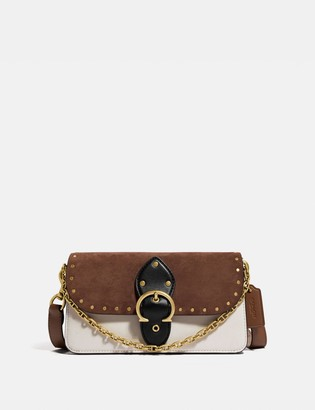 Coach Beat Crossbody Clutch With Rivets