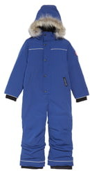 Canada Goose Baby Grizzly Snowsuit with Genuine Coyote Fur Trim