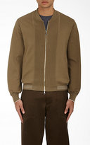 TOMORROWLAND MEN'S COMBO BOMBER CARDIGAN