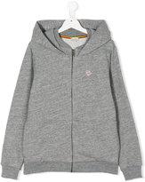 Paul Smith zebra embroidery zipped hoodie