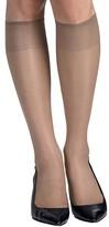Hanes Sheer Toe Knee Highs 2-Pack