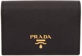 Prada Black Bifold Card Holder
