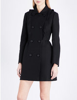 RED Valentino Double-breasted woven coat