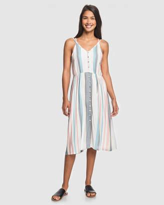 Roxy Womens My Way To Coast Strappy Dress