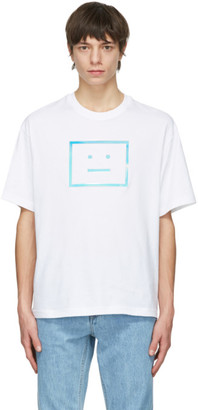 Acne Studios White Relaxed T-Shirt
