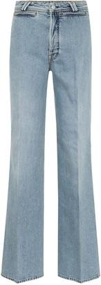 Acne Studios Tiffan flared jeans