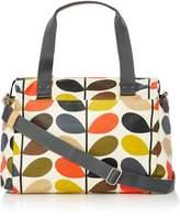 Orla Kiely Multi stem zip messenger baby bag