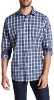 Bugatchi Classic Fit Plaid Woven Shirt
