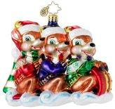 Christopher Radko Deer's Day Off Christmas Ornament