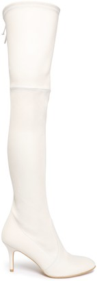 Stuart Weitzman Stretch-leather Over-the-knee Boots