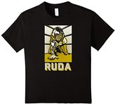 RUDA x Rockets Are Red LuchAdore Collection Knees T-shirt