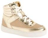 MICHAEL Michael Kors Toddler Girl's 'Ivy Mae' High Top Sneaker