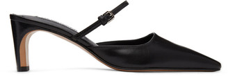 Jil Sander Black Mary Jane Heels