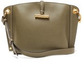 J.W.Anderson Hoist Small Leather Shoulder Bag - Womens - Olive Green