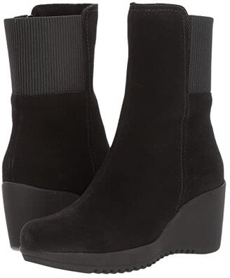 La Canadienne Gwyn (Black Suede) Women's Boots
