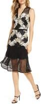 Adelyn Rae Lizette Lace Midi Dress