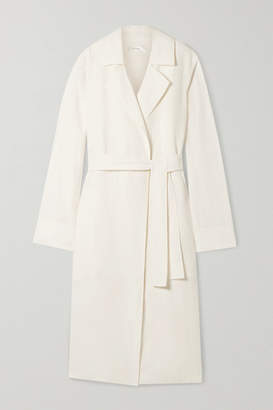The Row Gami Belted Canvas Trench Coat - Off-white