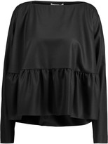 Antonio Berardi Ruffled wool top