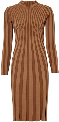 Burberry Rib-Knit Dress