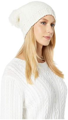 UGG Boucle Slouchy Beanie (Ivory) Beanies