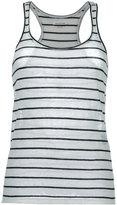 Etoile Isabel Marant stripe vest top - women - Cotton/Linen/Flax - XS