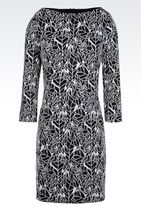 Armani Jeans Dress In Jacquard
