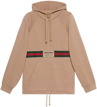 Gucci Sweatshirt with Web and label