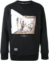 Kokon To Zai graphic printed sweatshirt - men - Cotton - S