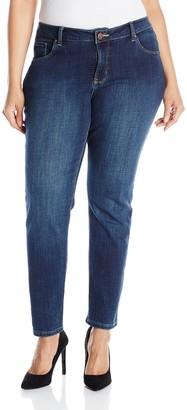 Lee Women's Plus-Size Modern Series Midrise Dream Jean - Faith Skinny