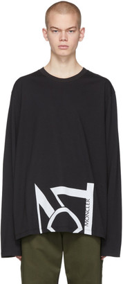 MONCLER GENIUS 5 Moncler Craig Green Black Logo Long Sleeve T-Shirt
