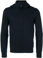 C.P. Company zipped goggle hoodie - men - Cotton - M