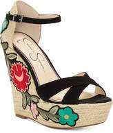 Jessica Simpson Apella Patch Wedge Sandals Women's Shoes