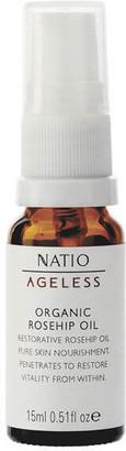 Natio Ageless Rosehip Oil Cold Pressed 15ml