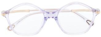 Chloé Kids Round Frame Sunglasses