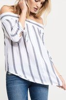 Dynamite Off-The-Shoulder Top