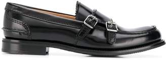 Church's double buckle loafers