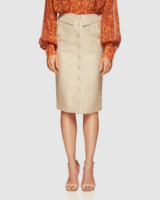 Oxford Women's Pencil skirts - Sunita Woven Skirt - Size One Size, 6 at The Iconic