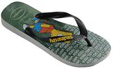 Havaianas Children's Simpsons Flip Flops, Grey